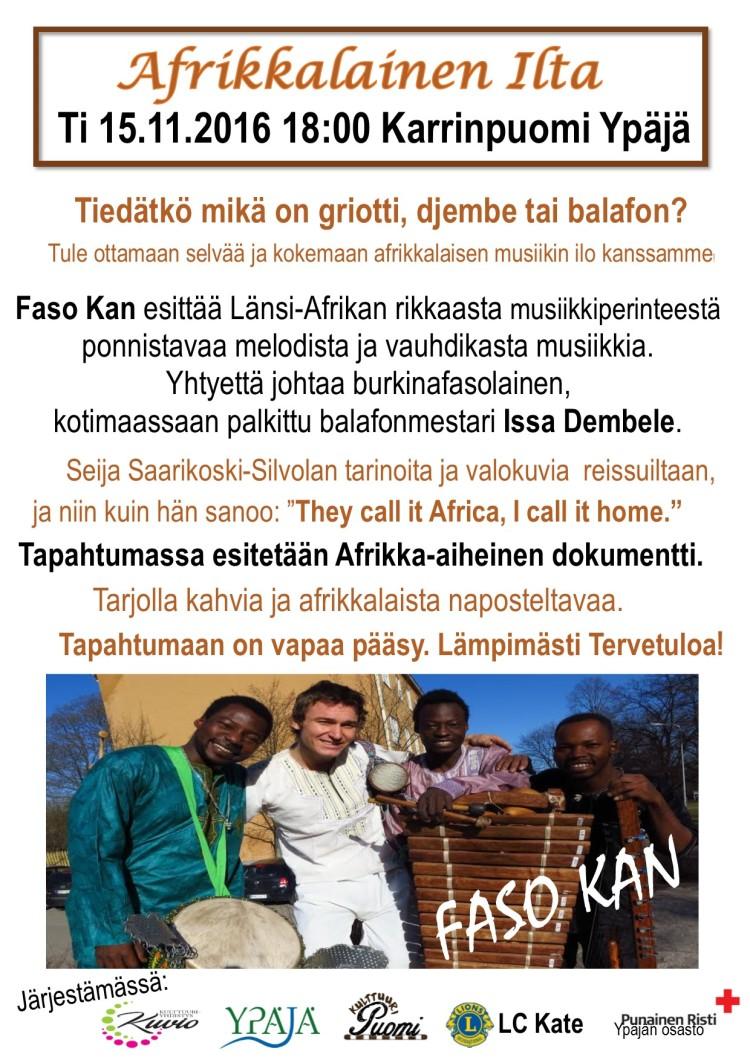 afrikkalaineniltauusin