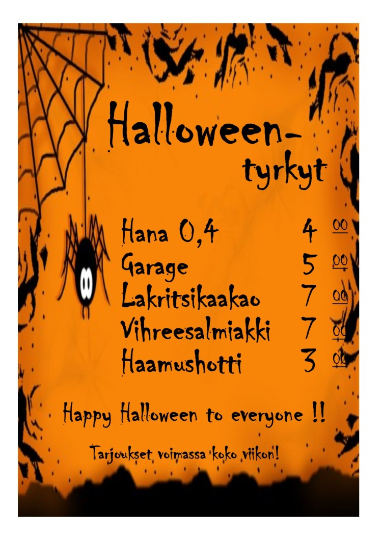 Halloween tyrkyt